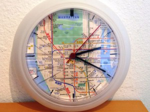"""My upcycle: the """"Rusch hour"""" clock"""